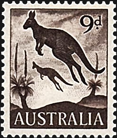 australia-kangaroos-definitive-stamp-1959
