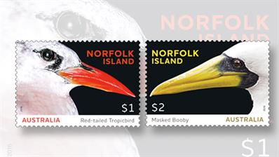 australia-norfork-island-seabirds-stamps
