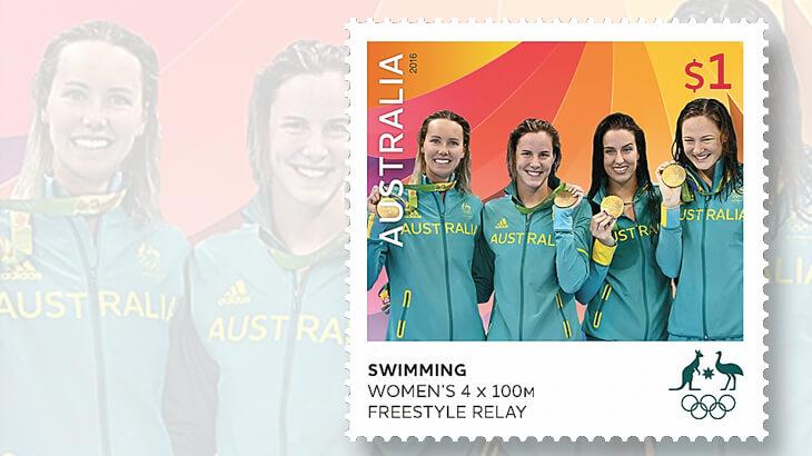 australia-rio-2016-medalist-stamp
