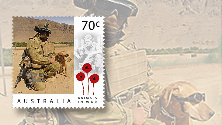 australia-war-dogs-2015-stamps