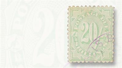 australian-1902-20-shilling-postage-due-stamp