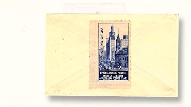australian-national-philatelic-exhibition-melbourne-label