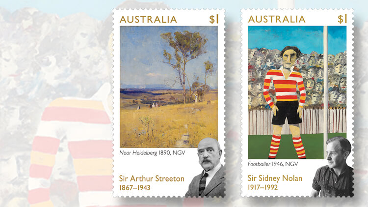 australian-paintings-stamps