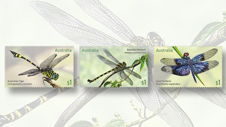 australian-tiger-petaltail-flutterer-stamps