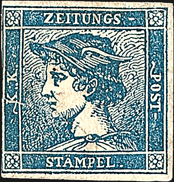austria-mercury-newspaper-stamp-1851
