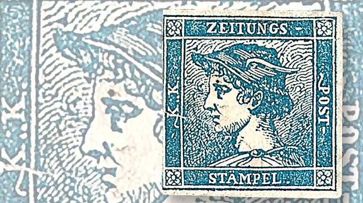 austria-mercury-newspaper-stamp