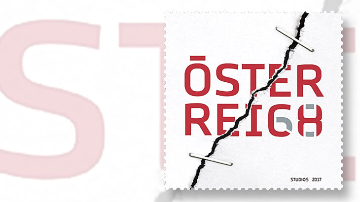 Austria Has Political Drama Too And A New Stamp Embodies It