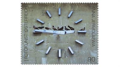 austria-time-photography-postage-stamp