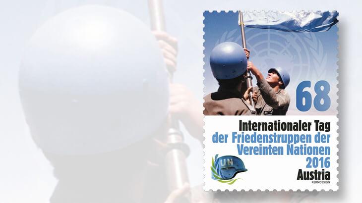 austria-un-peacekeeper-stamp