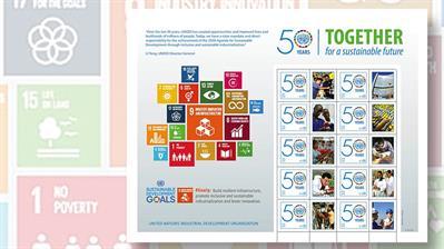 austrian-ten-stamp-pane-of-sustainable-development-goals