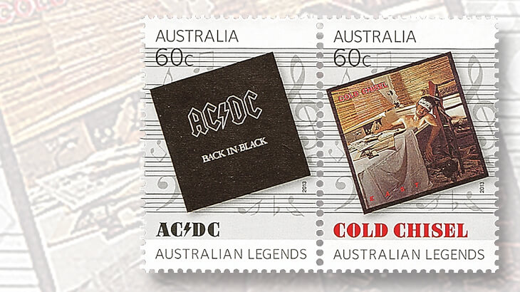 back-in-black-acdc-east-cold-chisel-album-cover-stamps