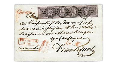 baden-1851-9-kreuzer-black-strip-of-five-cover