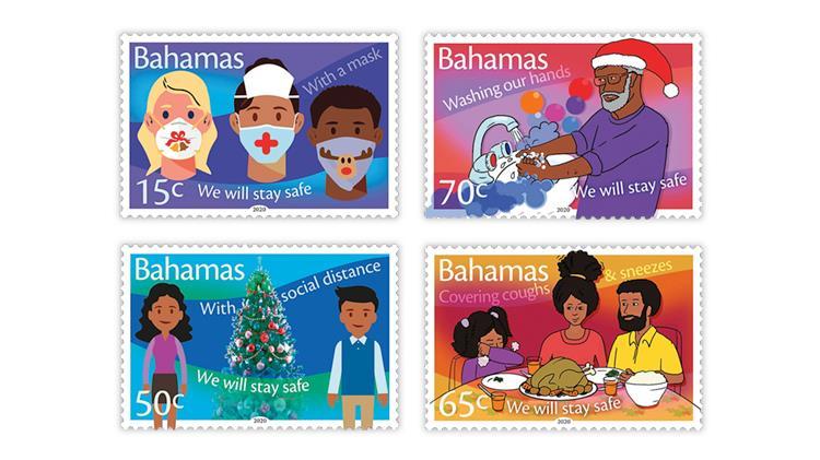bahamas-2020-christmas-covid-19-stamps