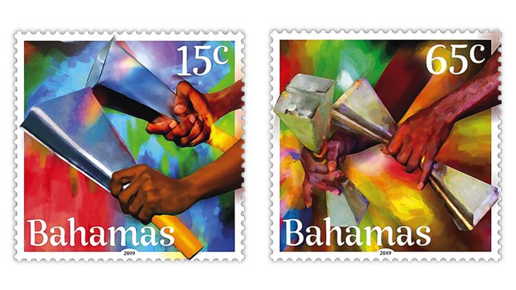 bahamas-christmas-cowbells-stamps