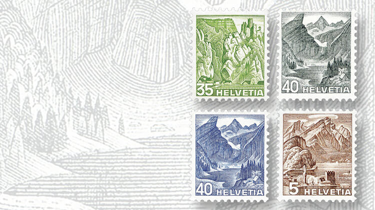 balsthal-pass-alpine-lake-santis-swiss-landscape-stamps