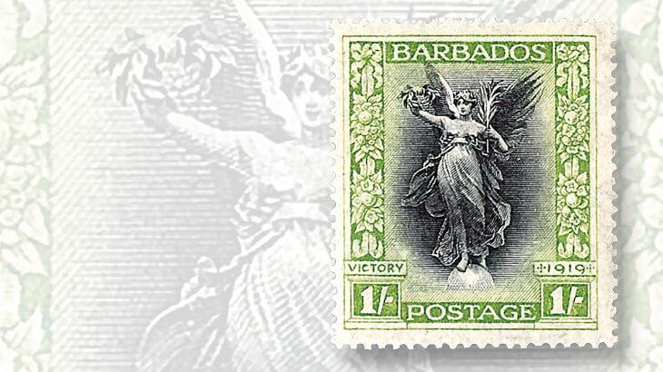 barbados-stamp-marking-end-of-world-war-i