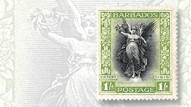 barbados-stamp-marking-end-of-world-war-i
