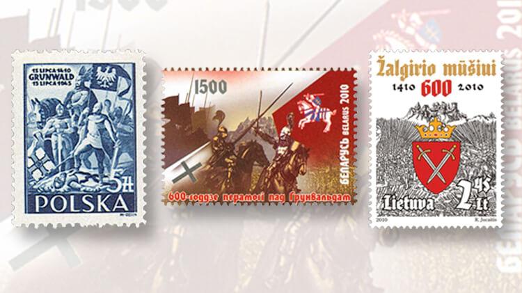 battle-of-grunwald-stamps