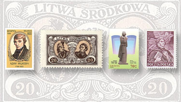 belarus-adam-mickevitch-stamp