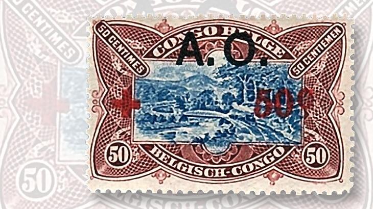 belgian-congo-ao-overprint-stamp