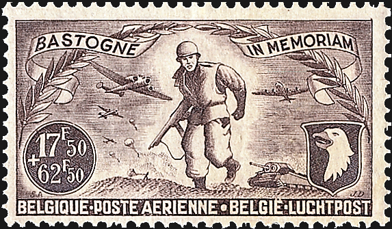 belgium-first-airmail-semipostal-stamp-world-war-ii-memorial-1946