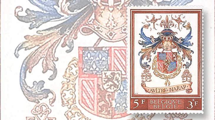 belgium-philip-the-good-semipostal-stamp