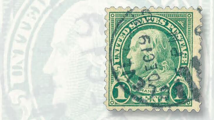 The Rare 1923 Benjamin Franklin Stamp Headlining May 20 21 Rasdale Auction