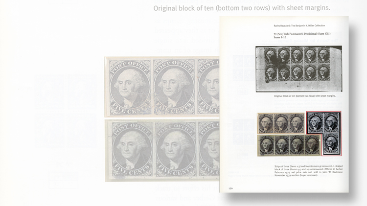 benjamin-k-miller-collection-recovery-new-york-postmasters-provisional-block-rarity-revealed