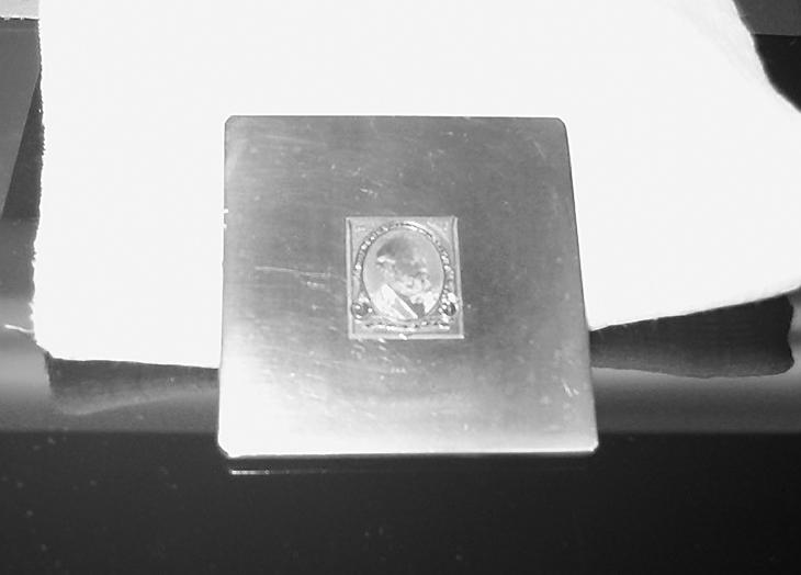 bep-stamp-die-treasure-trove-garfield-die