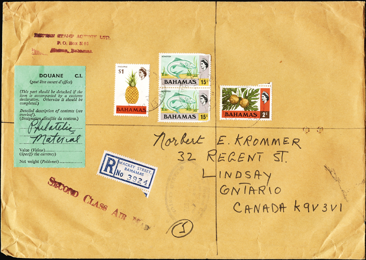 Phonograph Records first-day covers: Bhutan to Canada, via the Bahamas