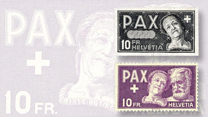 black-proof-peace-set-10-franc-stamps
