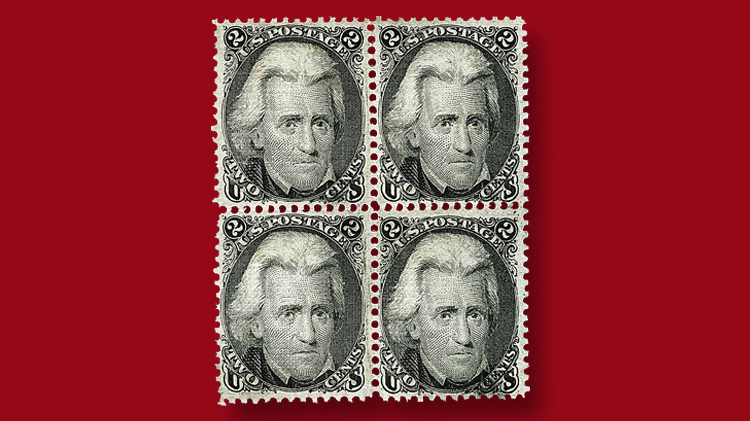 block-two-cent-black-andrew-jackson-stamp