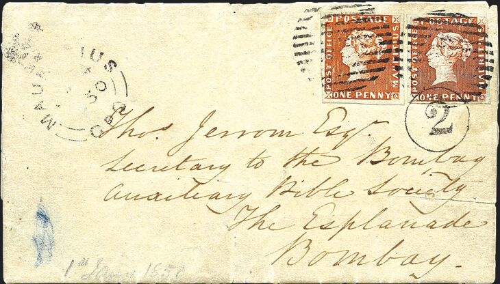 bombay-cover-post-office-mauritius-stamps