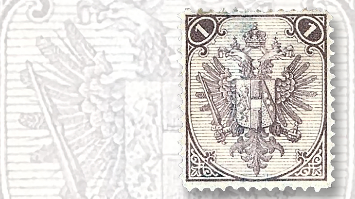 bosnia-herzegovina-1879-dual-issue-stamp