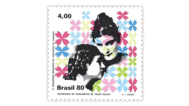 brazil-1980-helen-keller-stamp