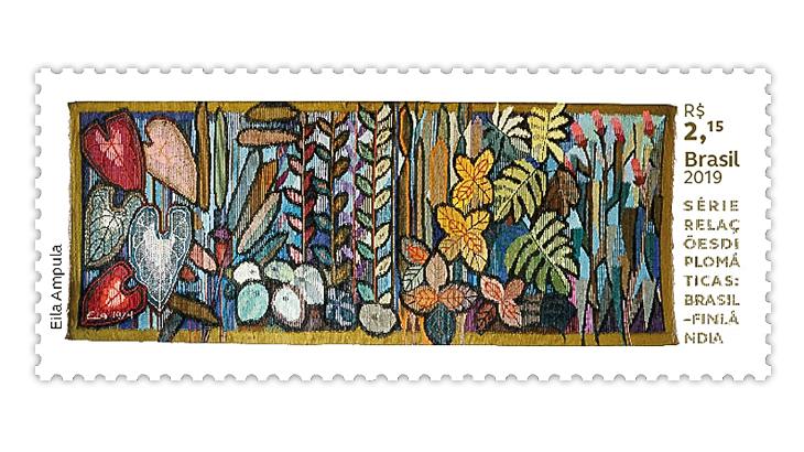brazil-2019-diplomatic-relations-centennial-finland-stamp