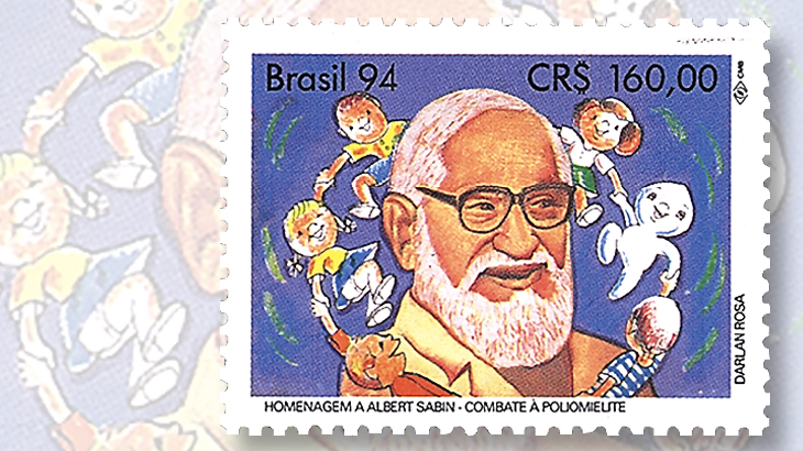 brazil-issued-1994-stamp-honors-docotor-albert-sabin