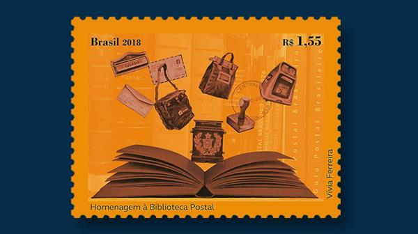 brazil-postal-library-anniversary