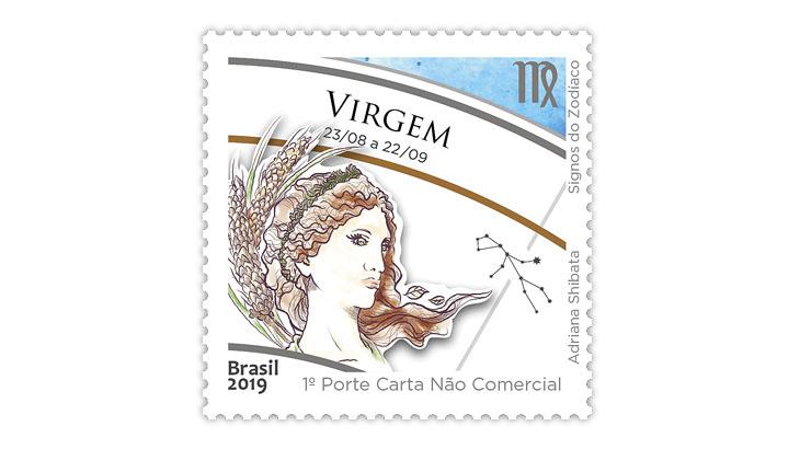 brazil-zodiac-series-virgo-stamp
