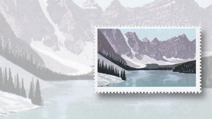 brigham-auction-edward-vii-elizabeth-ii-moraine-lake-banff-national-park-color-omitted-error