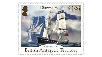 british-antarctic-territory-antarctic-continent-discovery-bicentennial-stamp