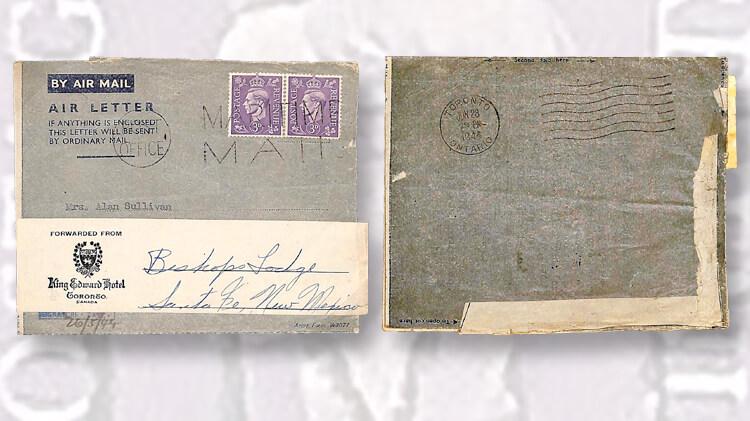 Postal History Of World War Ii Atomic Bombings Linns Com