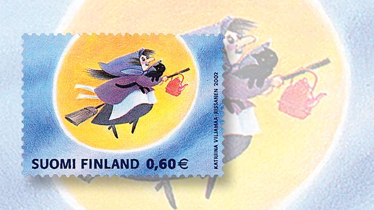 broom-finland-easter-halloween-stamp