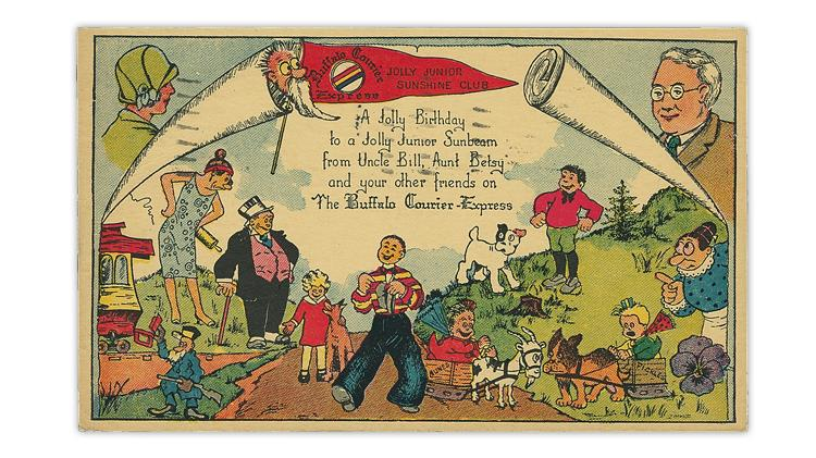 buffalo-courier-express-postal-card-illustration