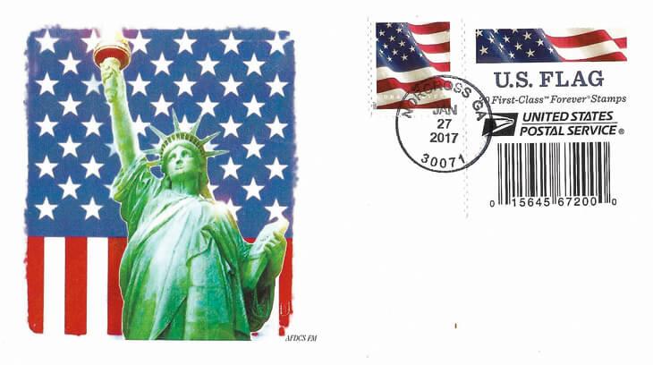 bulls-eye-cancel-flag-forever-stamp