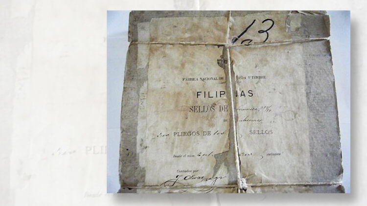 bundle-philippines-1898-two-milesimas-stamps