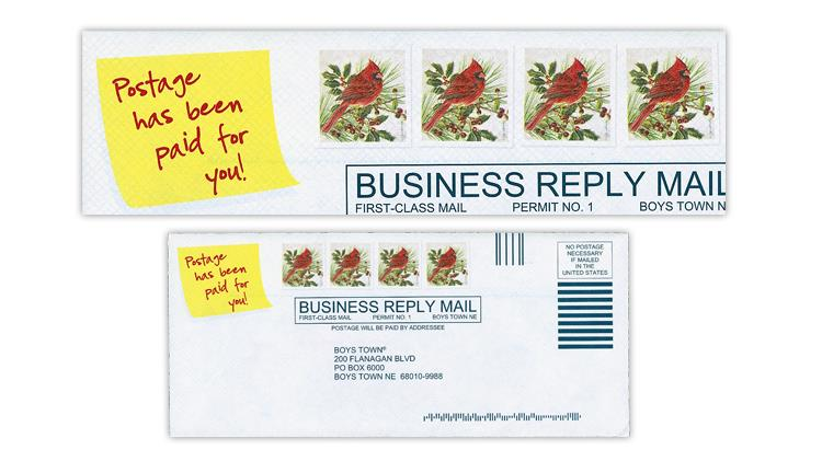 business-reply-envelope-faux-stamps-cardinal