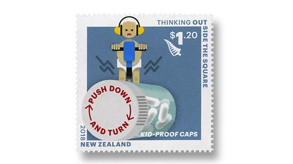 By Topic December 2018 New Zealand stamp