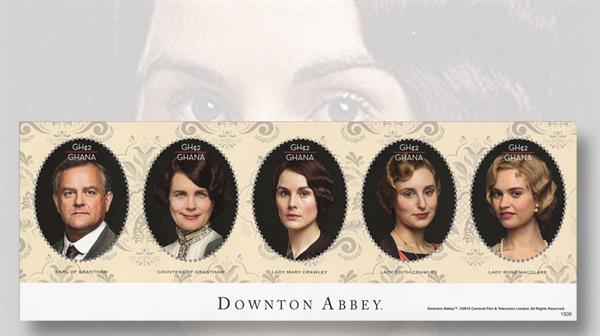 by-topic-ghana-stamp-downtown-abbey