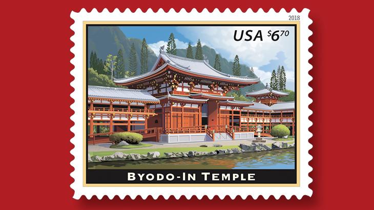 byodo-in-temple-stamp